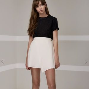 The Fifth Label Crystal Nights skirt in shell, XS